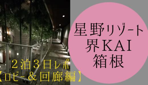 【子連れ旅レポ】星野リゾート界 KAI箱根:ロビー&回廊編